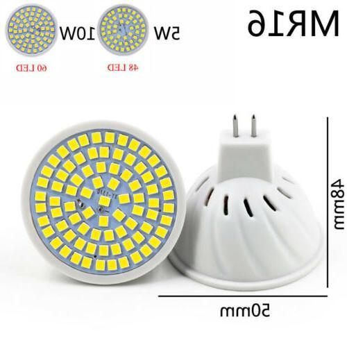 MR16 GU10 E27 5W 8W LED COB Bright SMD Spot Light 220V
