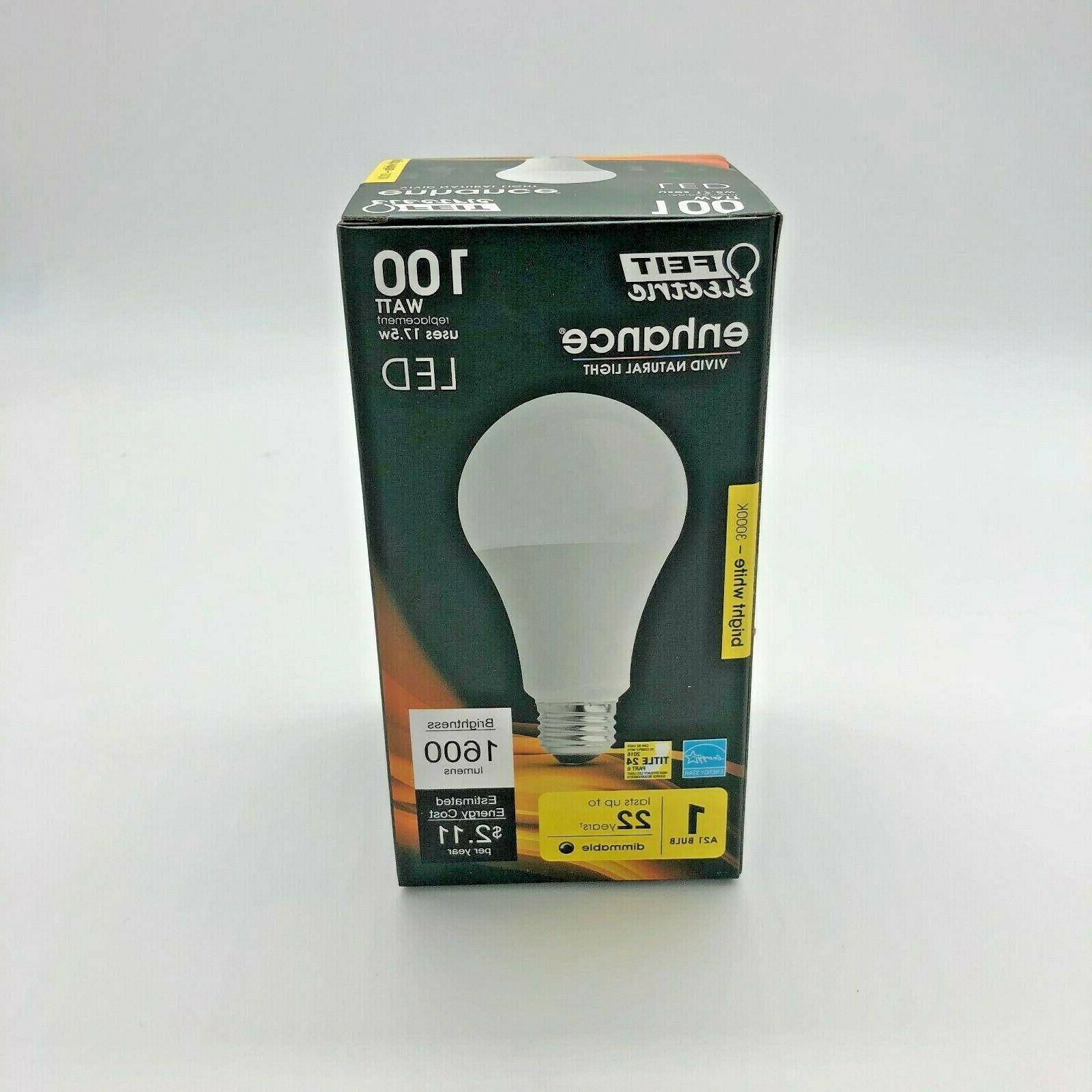 multiuse led bulb 100w 120v 1600 lumens