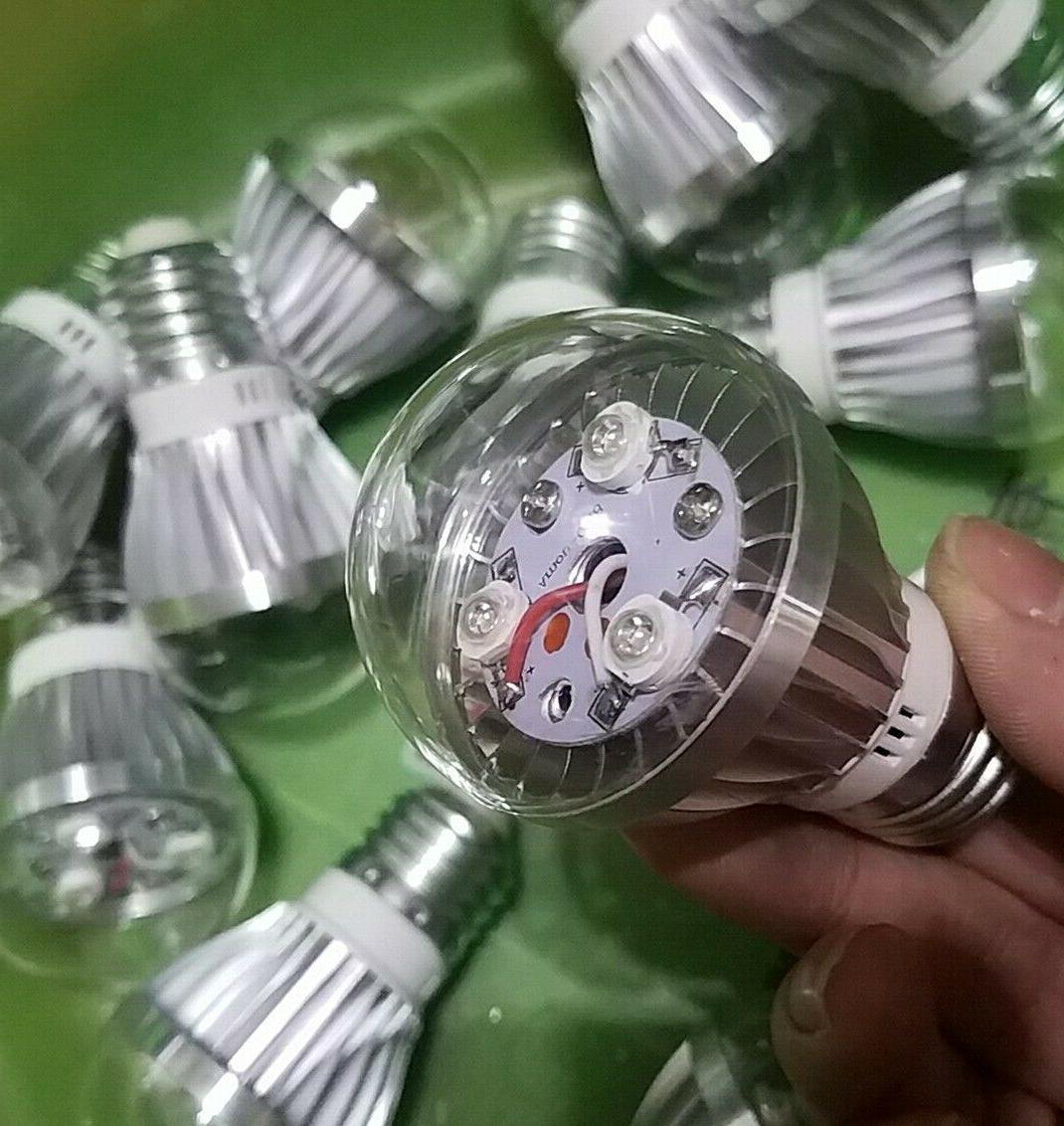 NEW 3W E27 395-400nm Purple LED Light Lamp