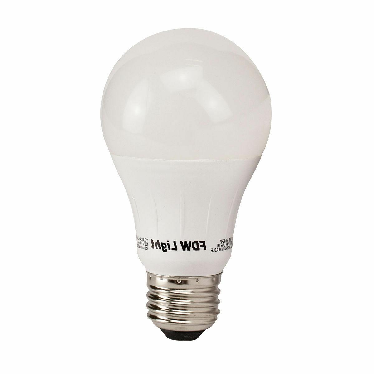 New Watt SlimStyle A19 Light Bulb Soft White 12