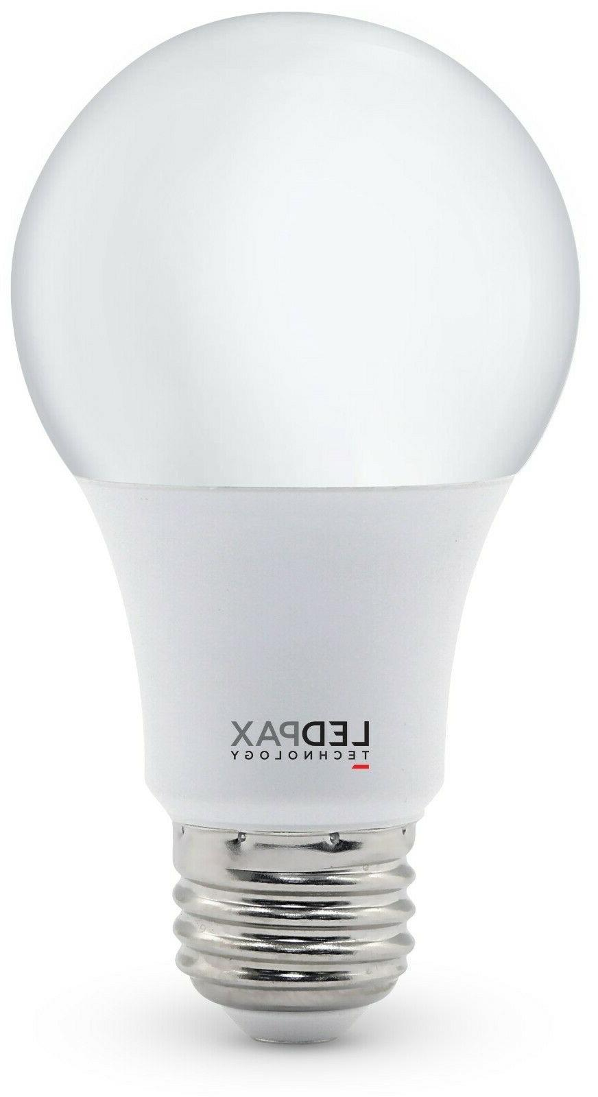 new 8 pack ledpax a19 non dimmable