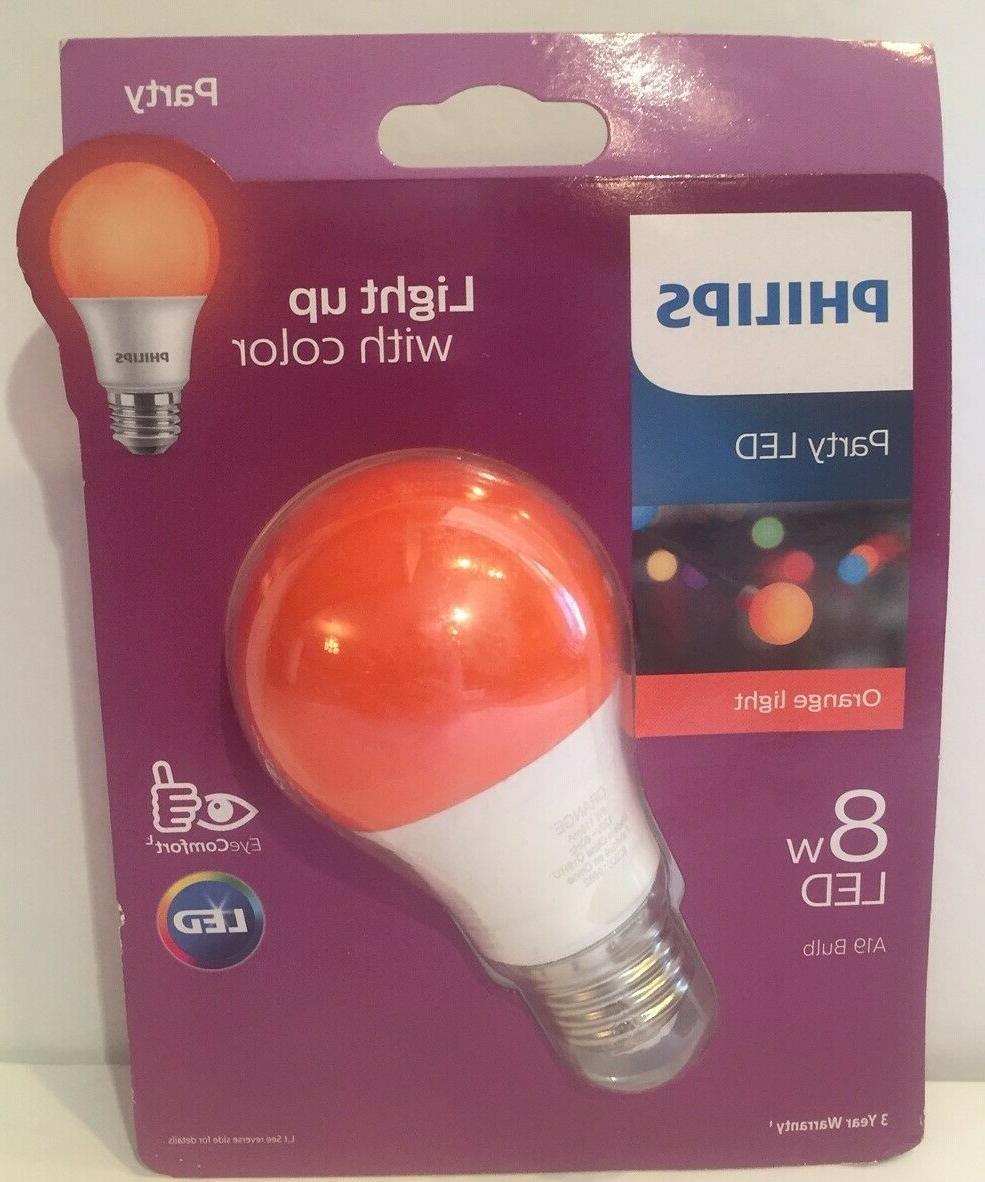 party led light bulb 8w a19