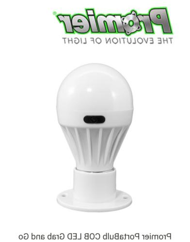 Porta Bulb COB LED Grab and Go Cordless Light Bulb