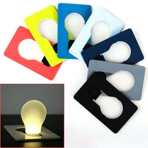 portable credit card size led light lamp