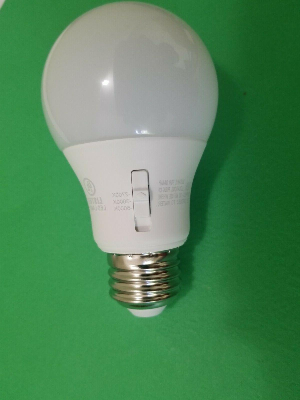 Led Daylight Bulb: QTY4 Adjustable 60-watt-ecosmart-A19-dimmable-energy Star