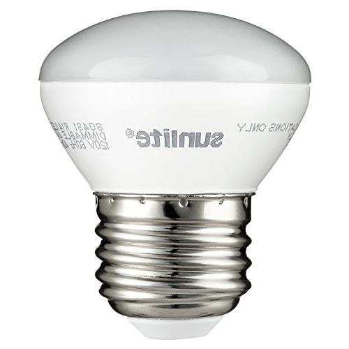 Sunlite 4w R14 E26 Medium Base 2700k Dimmable LED Light bulb