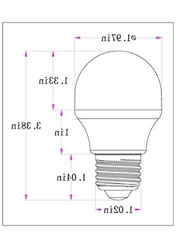 desk Contact Medium Screw Reflector R16 Equivalent Incandescent Bulbs 120Volt White 5000K Equivalent size