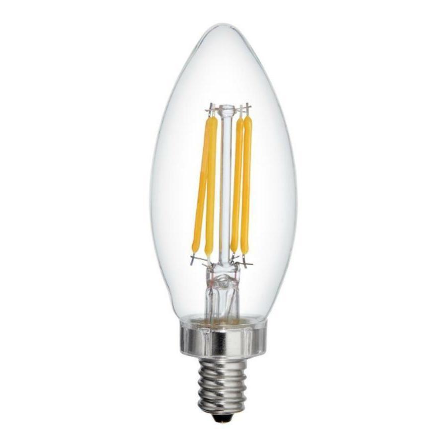 Led Light Bulb Candelabra Base: Ge Relax Led HD Light Bulb Candelabra Base