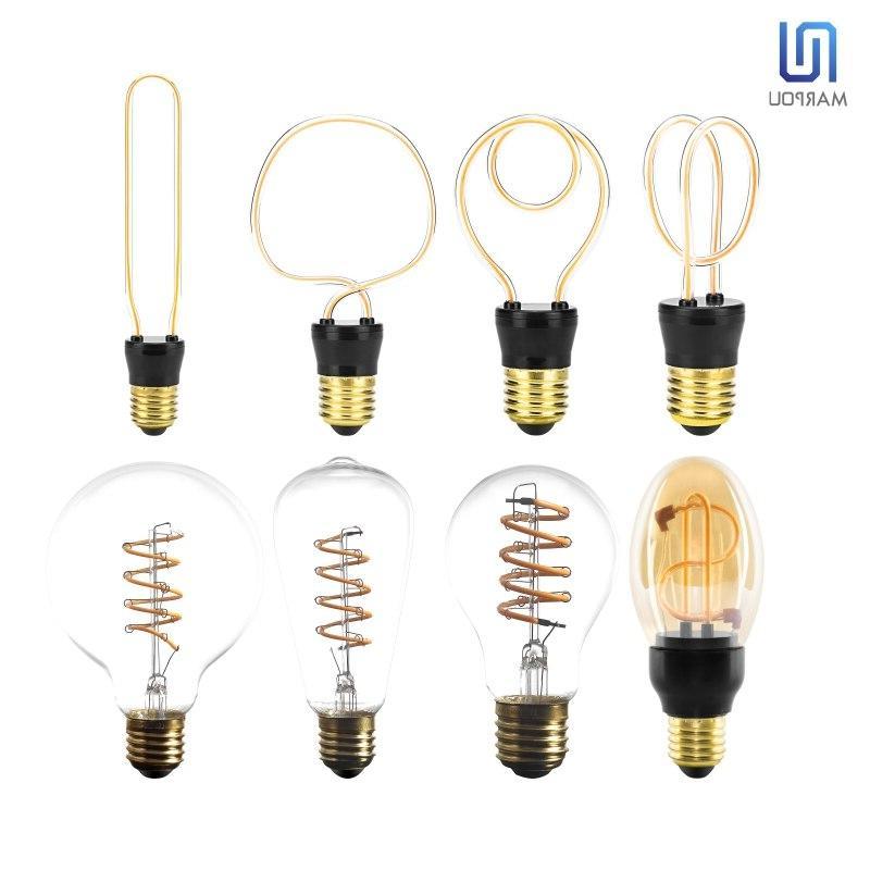 Retro <font><b>LED</b></font> E27 220V Edison <font><b>LED</b></font> 4.5W Irregular <font><b>Filament</b></font> <font><b>Bulbs</b></font>
