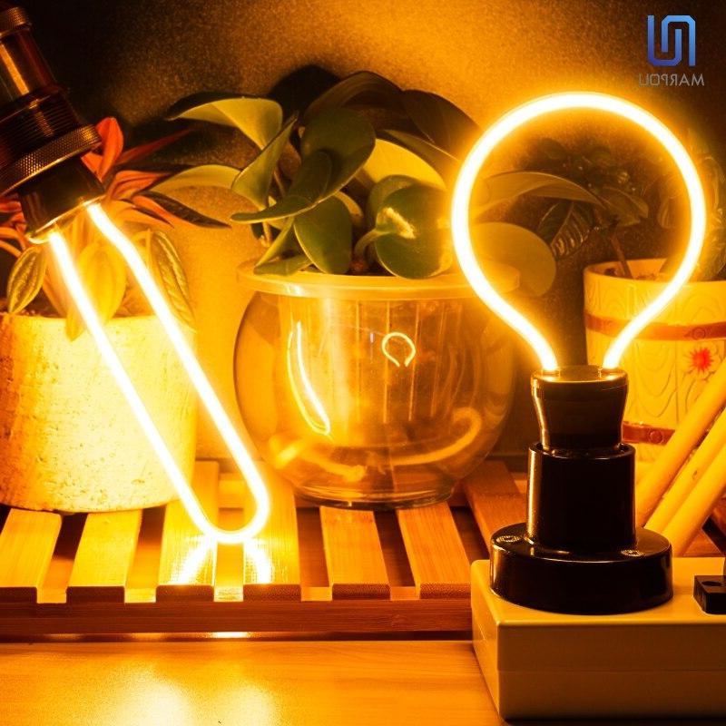Retro <font><b>Bulb</b></font> E27 220V Edison <font><b>LED</b></font> Ampoule Lamp 4.5W Decor Irregular <font><b>Bulbs</b></font>