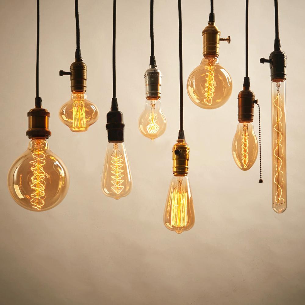 retro <font><b>bulb</b></font> e27 vintage edison lamp Incandescent <font><b>bulb</b></font> <font><b>led</b></font>