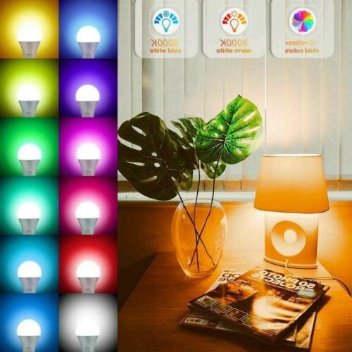 RGBW Bluetooth LED Bulb Color Changing Control