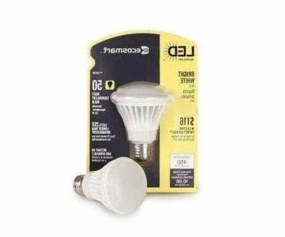 Set of 3 EcoSmart 125501 8-Watt  Bright White  BR20 LED Floo