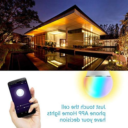 Smart Bulb, Led Color Changing Mood Light Bulbs That Compatible Home .