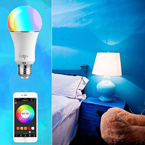 Smart Bulb, Wigbow Led Color Changing 70Watts Mood Bulbs Compatible .