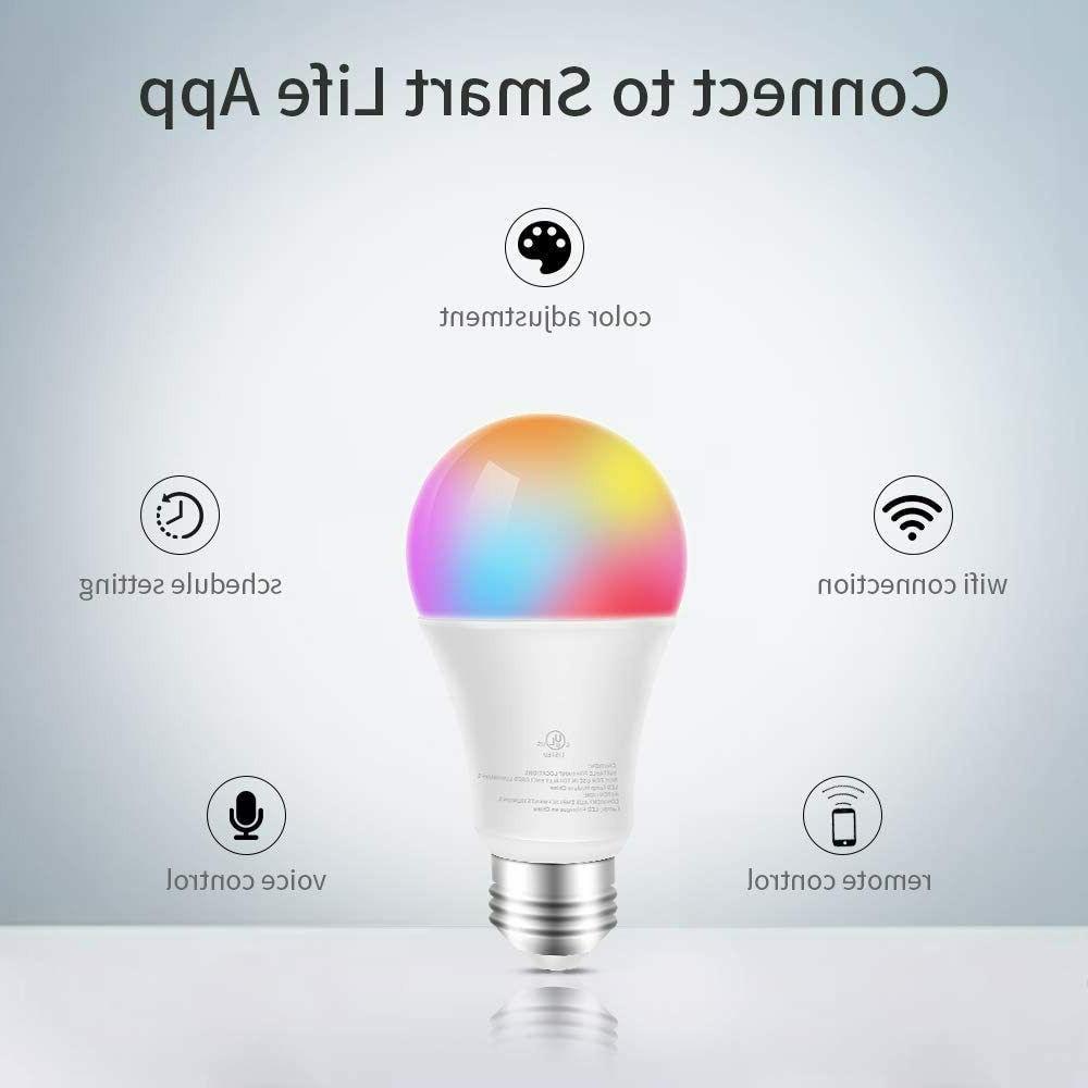 Smart LED WiFi with Alexa, Google