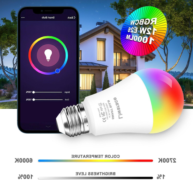 Smart LED 12W A19 Dimmable Alexa/Google