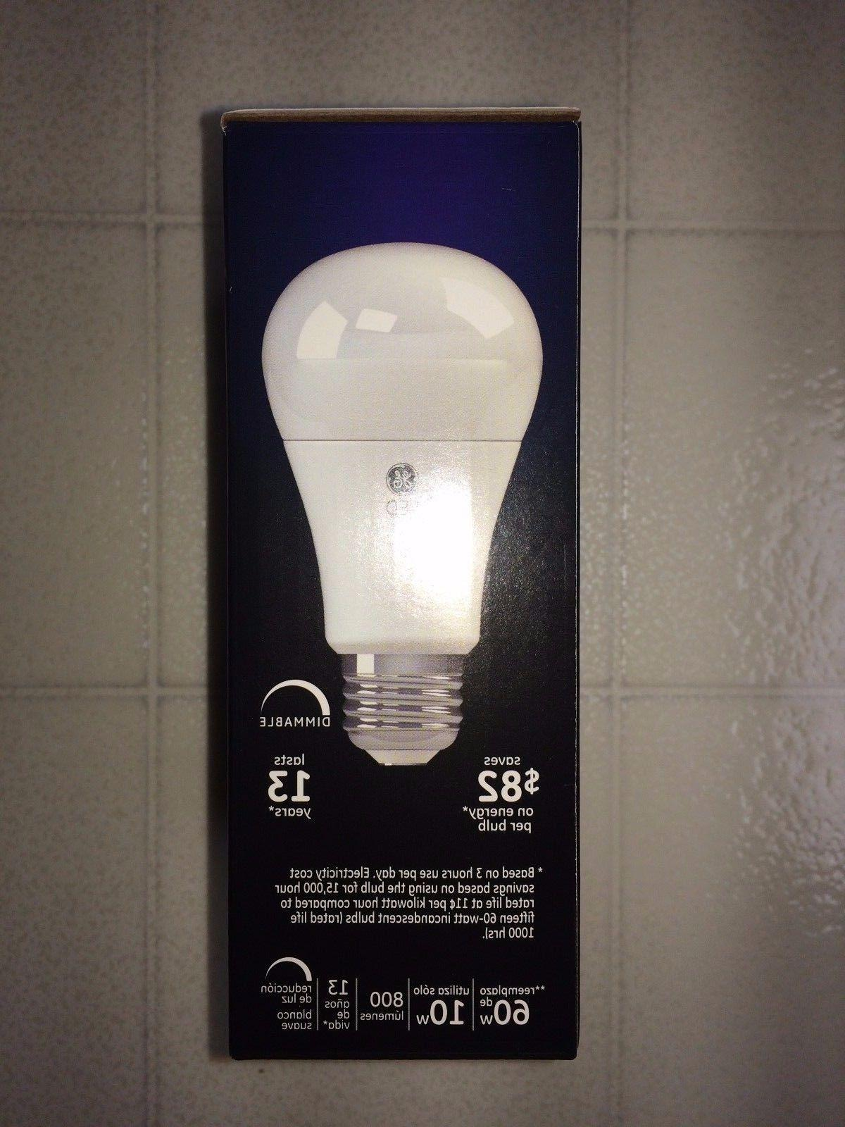 4 PACK GE LED White Equivalent E26