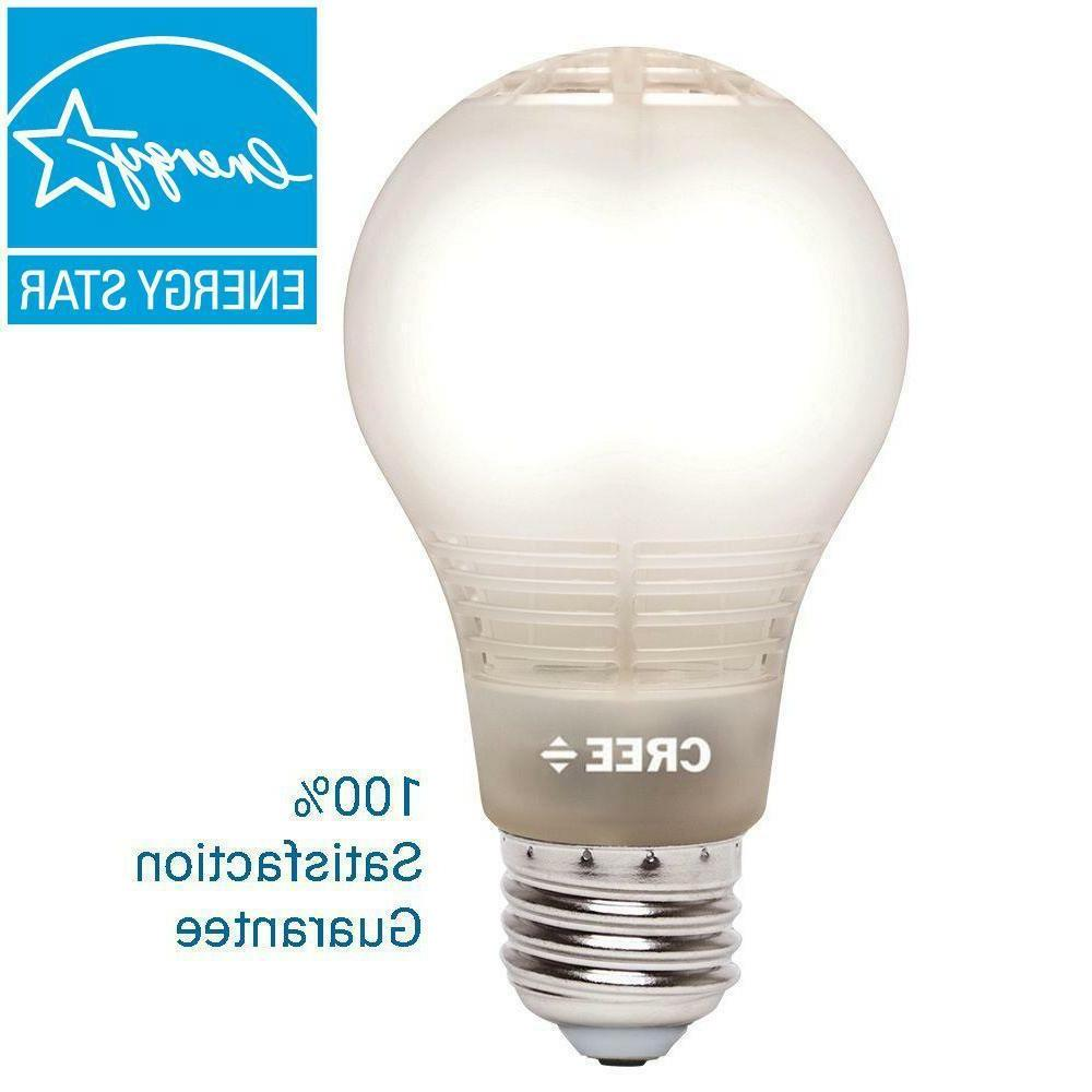 Cree Soft White Energy Saving A19 Dimmable LED Light Bulb, 4
