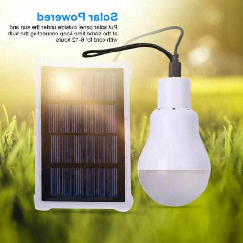 Solar Powered Lights Bulb Indoor