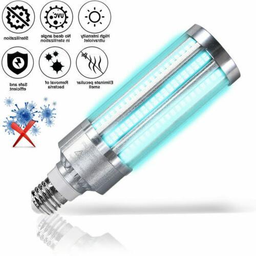 uv germicidal sterilizer lamp 60w e27 led