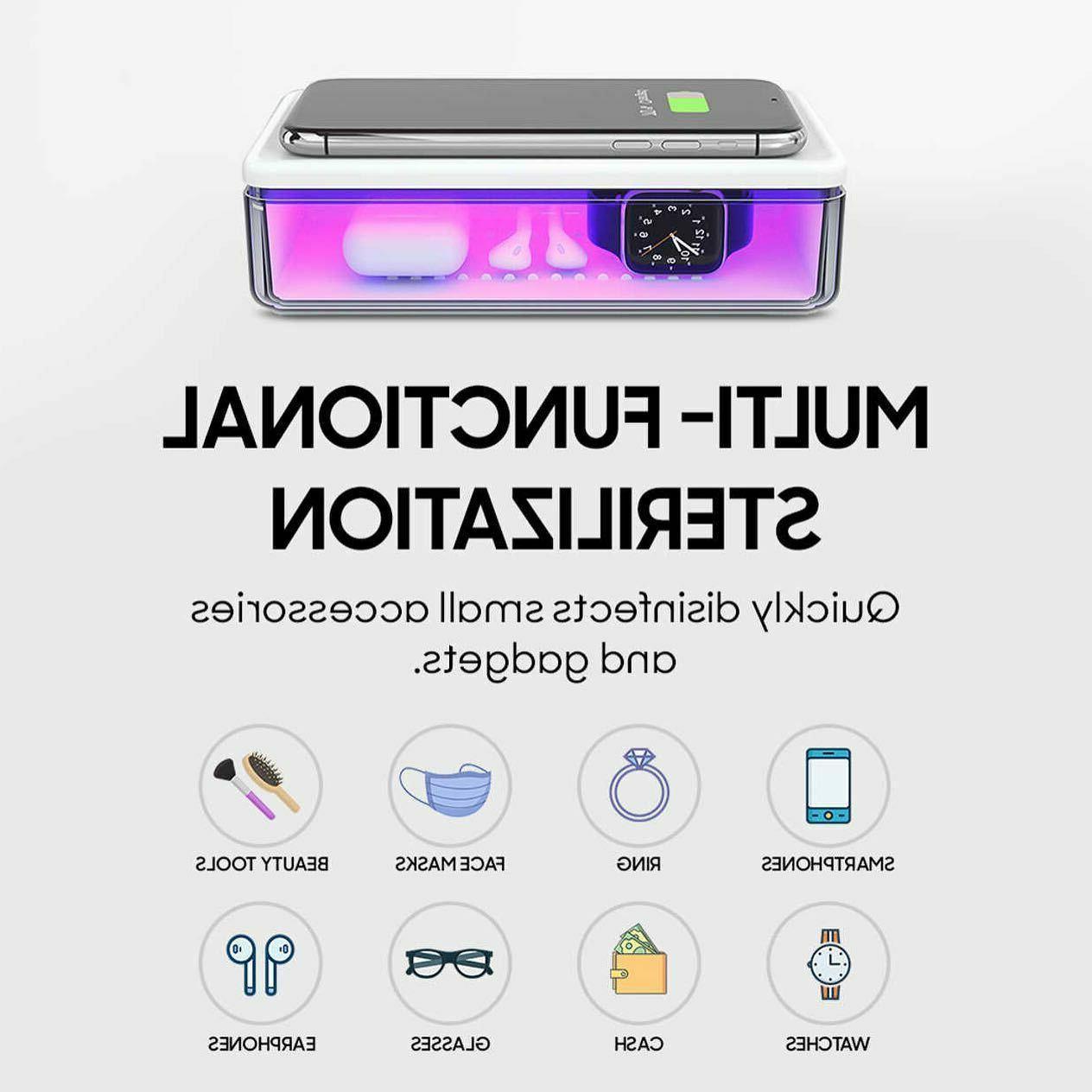 UV Sterilizer Wireless for UV-C Box 15W USB-C