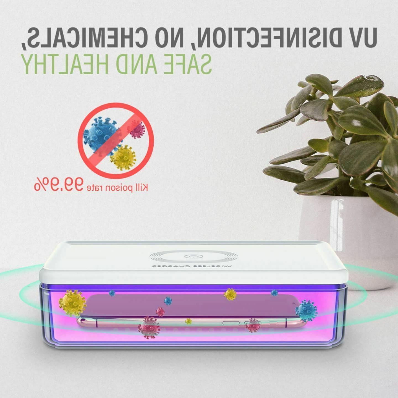 uv sterilizer wireless charger for uv c