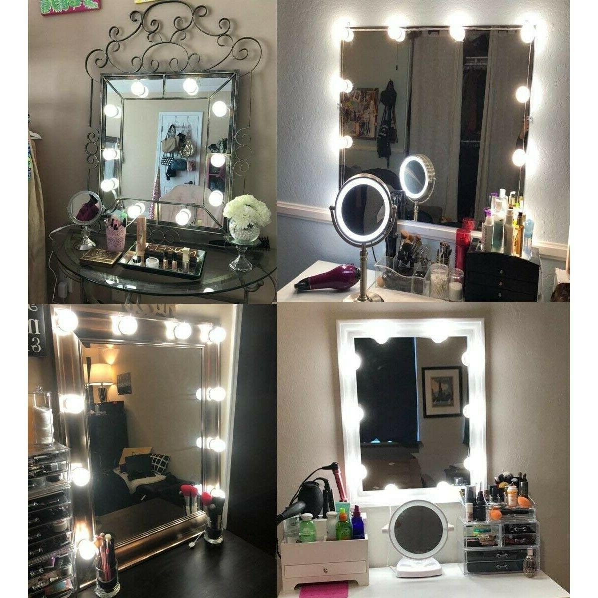Vanity Light Strip For Mirror Lighting Bulb Touch