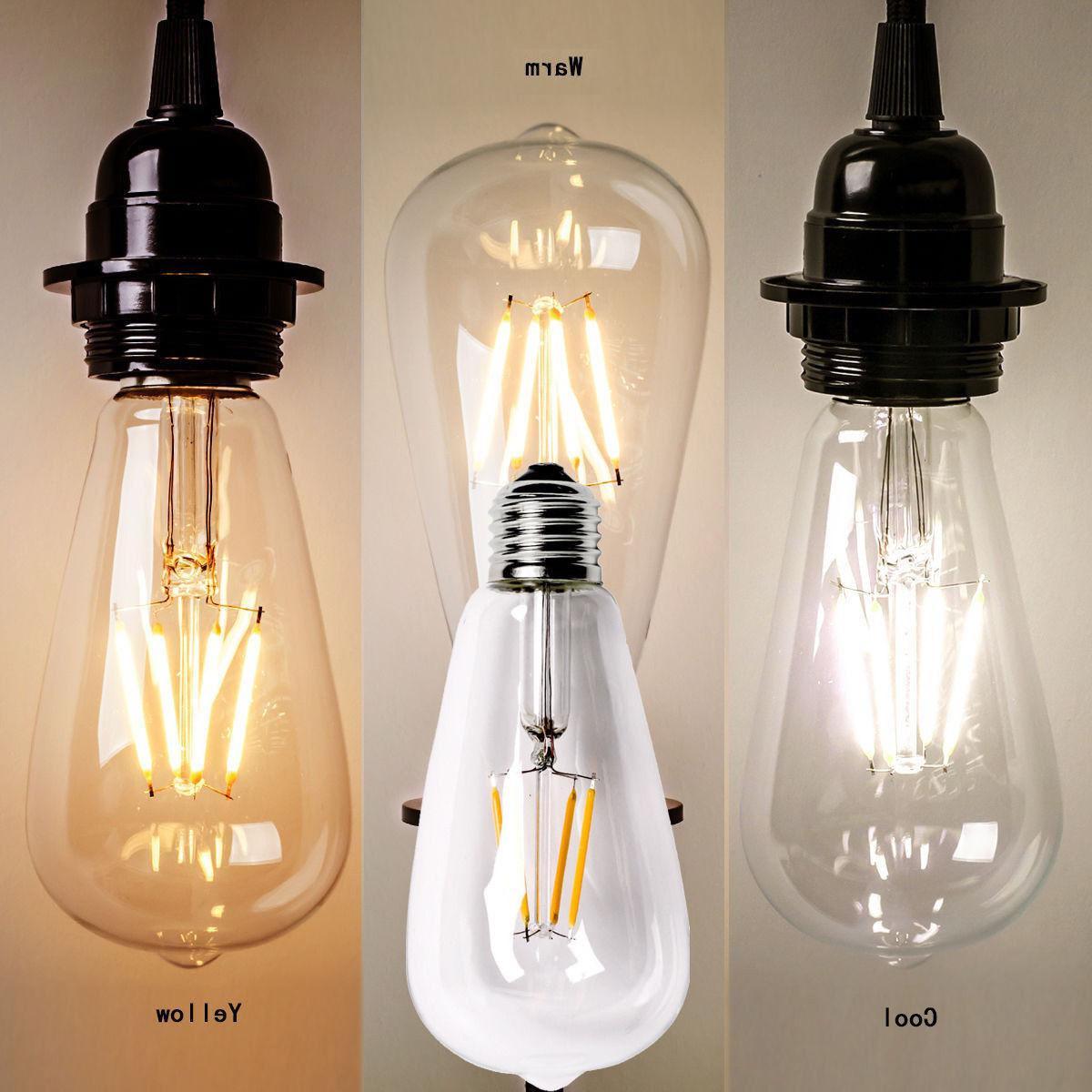 Vintage Screw Bulb Light
