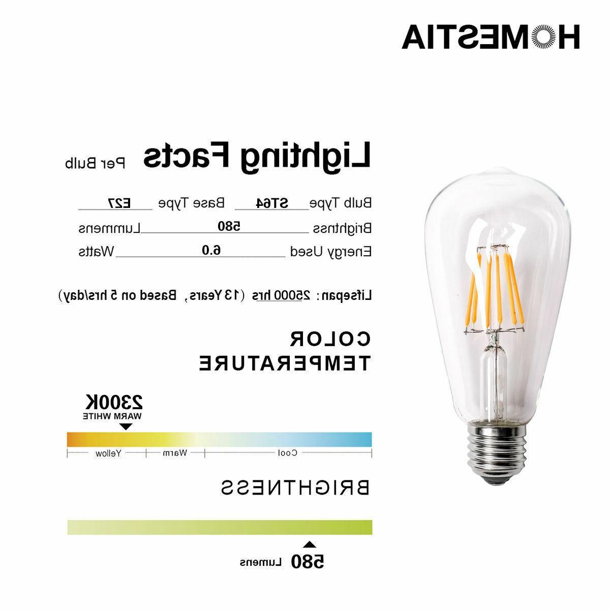 Vintage E27 Screw Energy Bulb Lamp