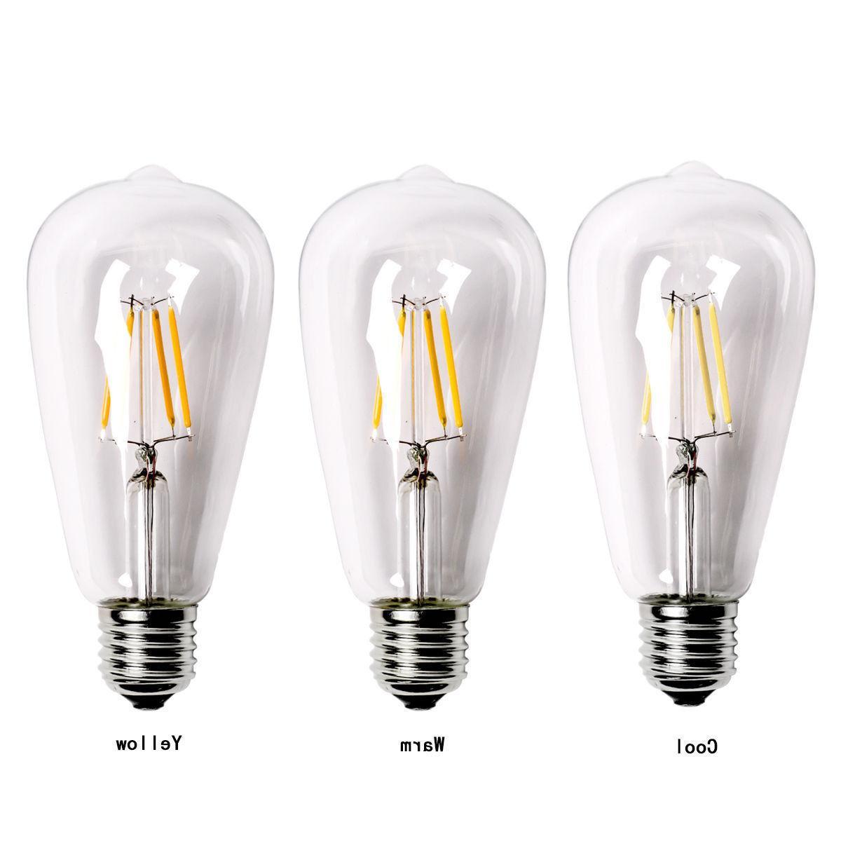 Vintage E27 60W Bulb ST64 Globe