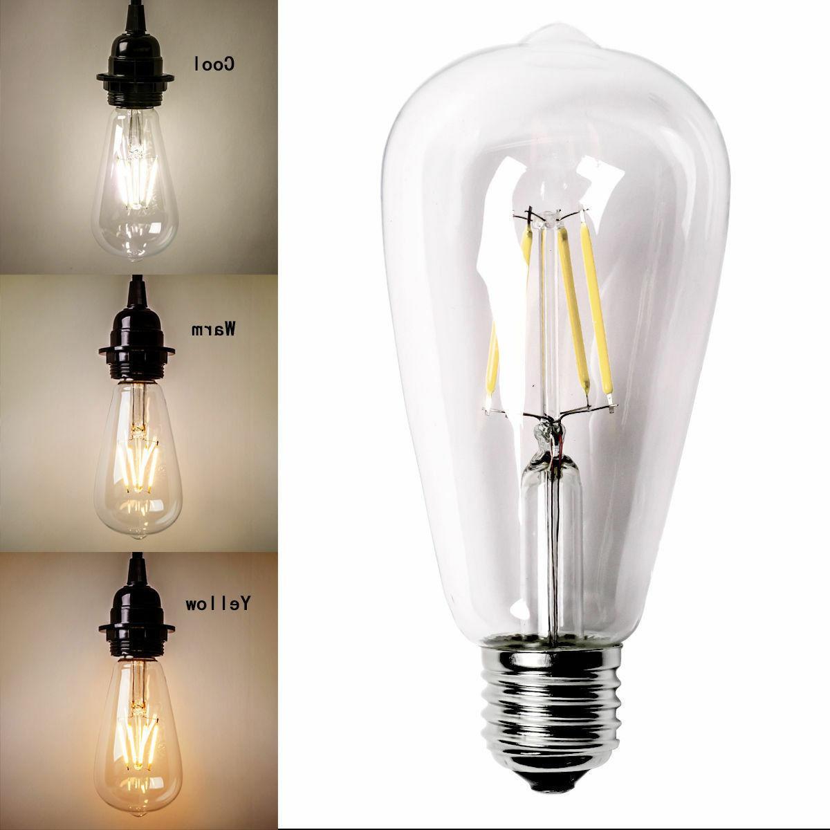 Vintage Screw Bulb Lamp