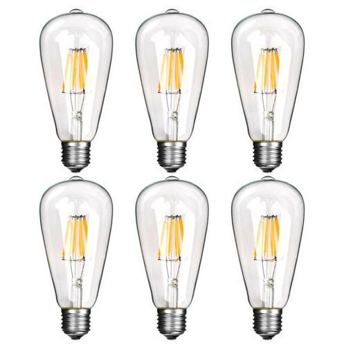 Vintage Retro E26 6W Light COB Filament Lamp