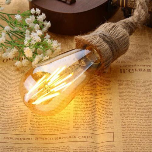 Vintage Retro 6W Light Bulb Edison Filament Lamp