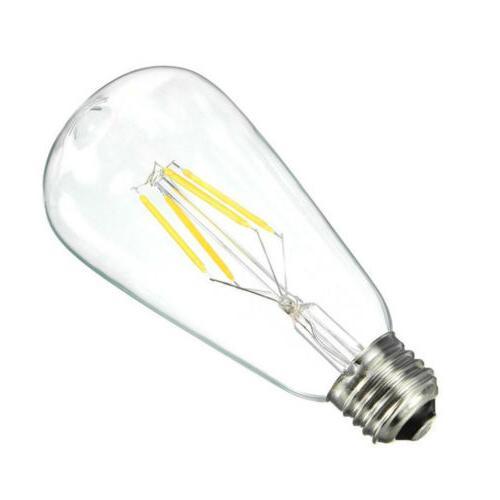 Vintage 4W 6W 8W Light COB Filament Lamp 110V