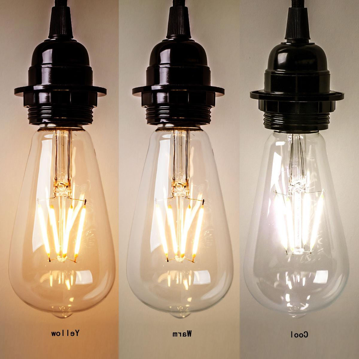 New Vintage Retro Edison E27 2W-8W Screw LED Filament Light