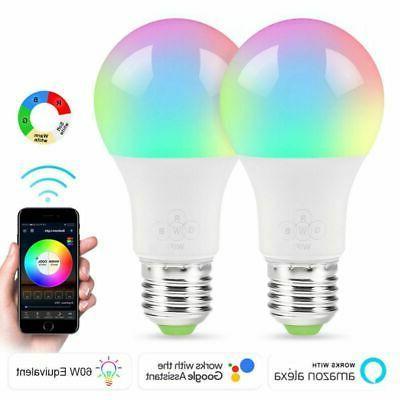 Wifi Light Alexa Google Home Control