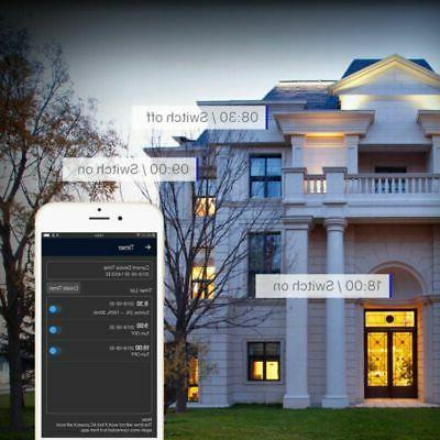 Wifi Smart LED Light Alexa Home App Control