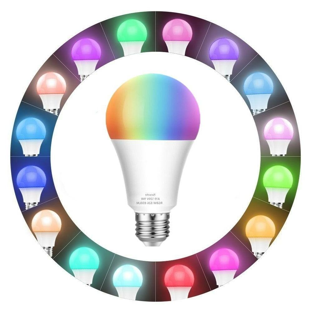 60W Dimmable Color Smart LED RGB+CW Alexa Googl