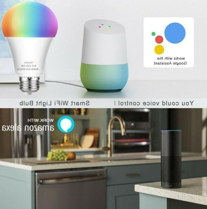 60W A19 Color LED Bulb Alexa