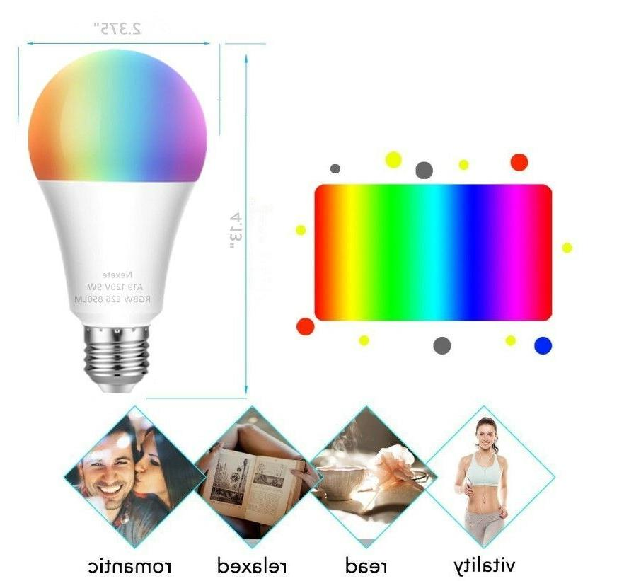 Color Changing Smart Wi-Fi LED RGB+CW Alexa