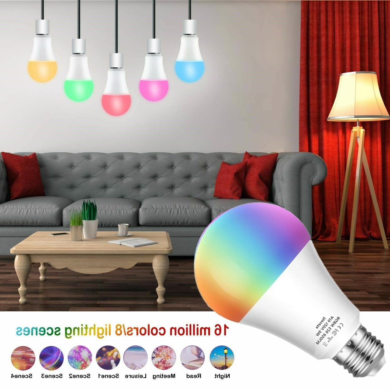 60W A19 Color Smart LED Alexa Googl
