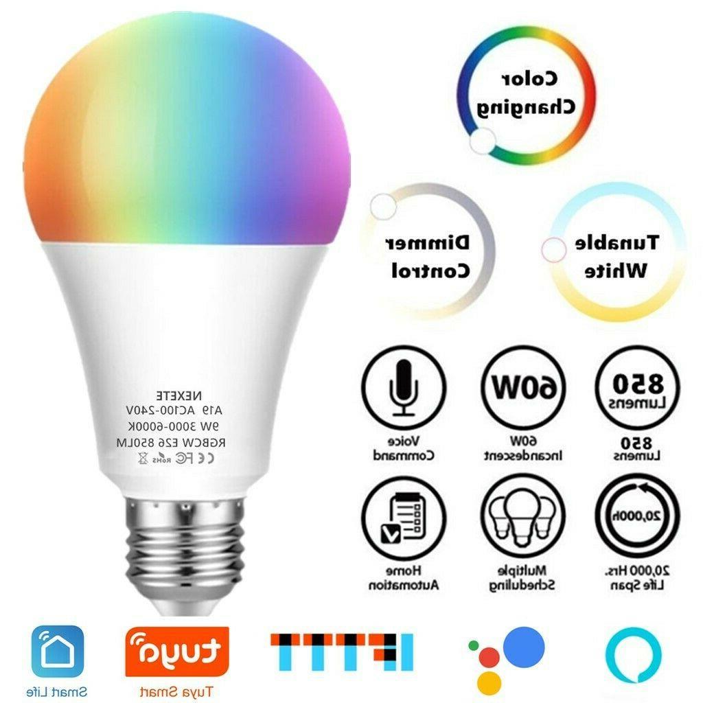 wifi smart led light bulb 10w a21