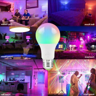 Wifi LED Light Bulb for Amazon Home App Control Multi-Color