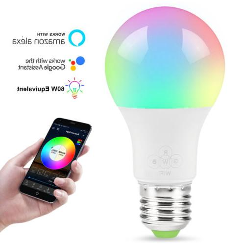 Wifi Bulb Dimmable Control for Home