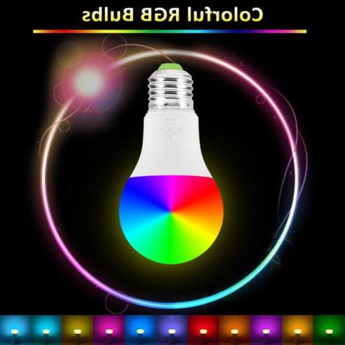 Wifi Smart Light Bulb Control for Amazon Alexa/Google Home