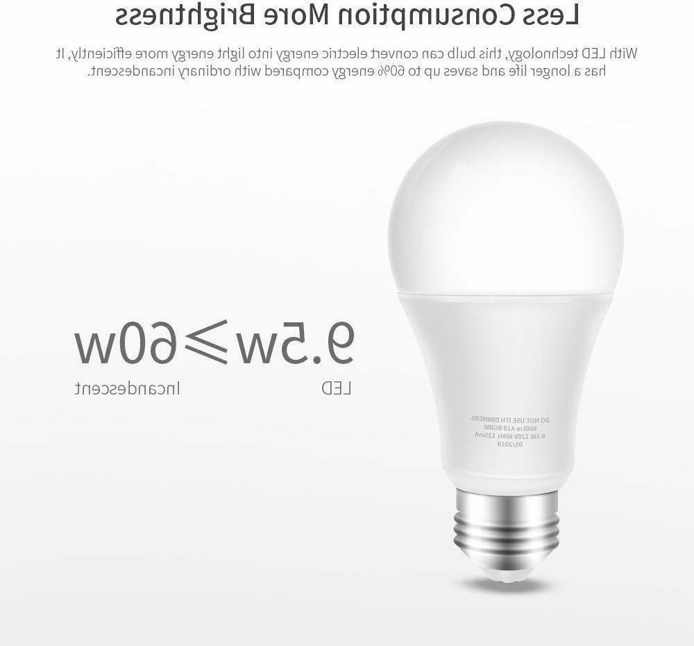 ⭐9W E27 B22 Smart Bulb Amazon Alexa App CCT