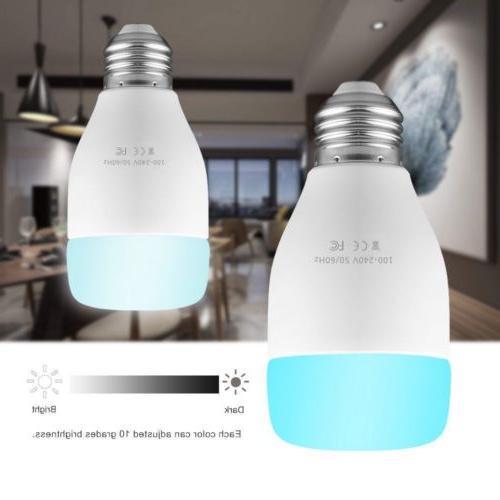 WiFi Light Bulb 10W RGBW E27 Echo Home USA