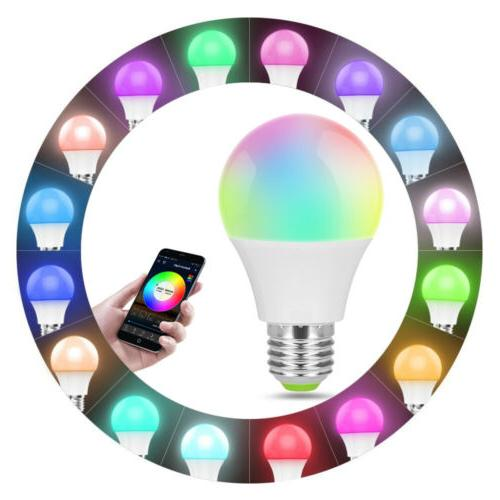 Wifi Smart Light Bulb Dimmable App Control Home