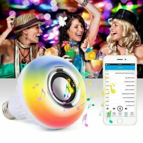 Wireless Bulb 12W RGB Smart + Remote